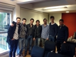 Grupo robótica de la EST en presentación CIAA.JPG